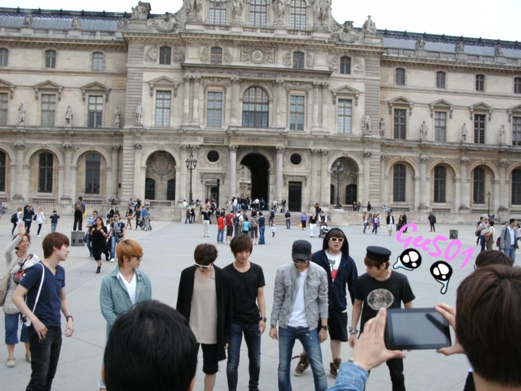 Picture super junior di paris